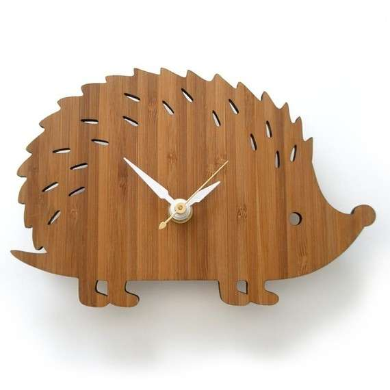 Wooden Animal Time-Tellers