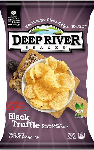Charitable Chip Brands Deep River Snacks