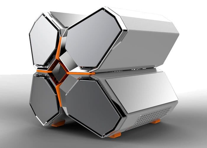 Unorthodox Compartmentalized PC Cases