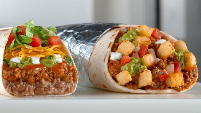 Plant-Based Meat Alternative Burritos