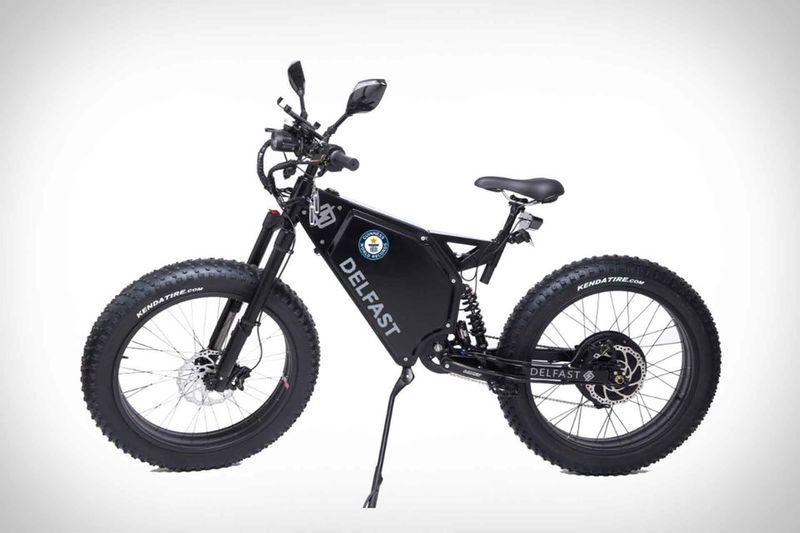 Heavy-Duty Eco Exploration Bikes