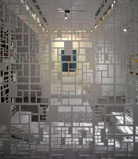 Lattice Like Interiors The Delhi Art Gallery S