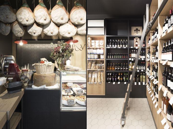Wine-Pairing Deli Shops