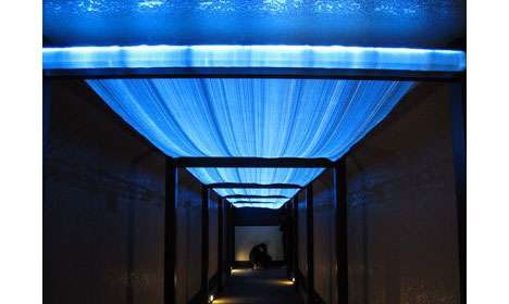 Luminescent Textile Ceilings