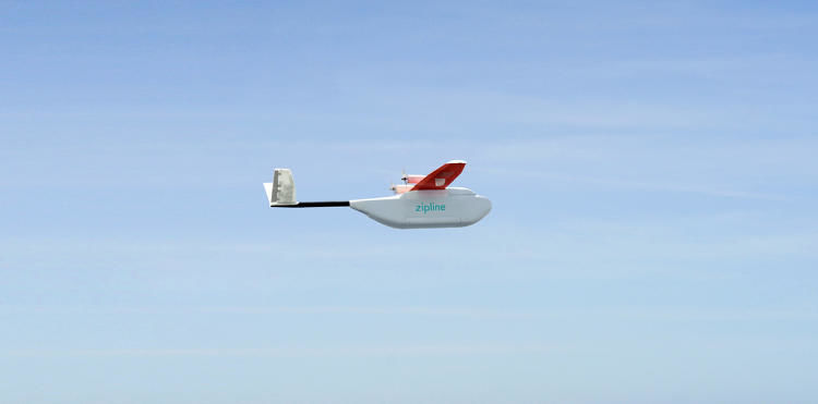 Blood Bank Delivery Drones