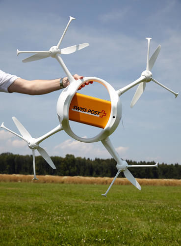 Mail-Delivering Drones