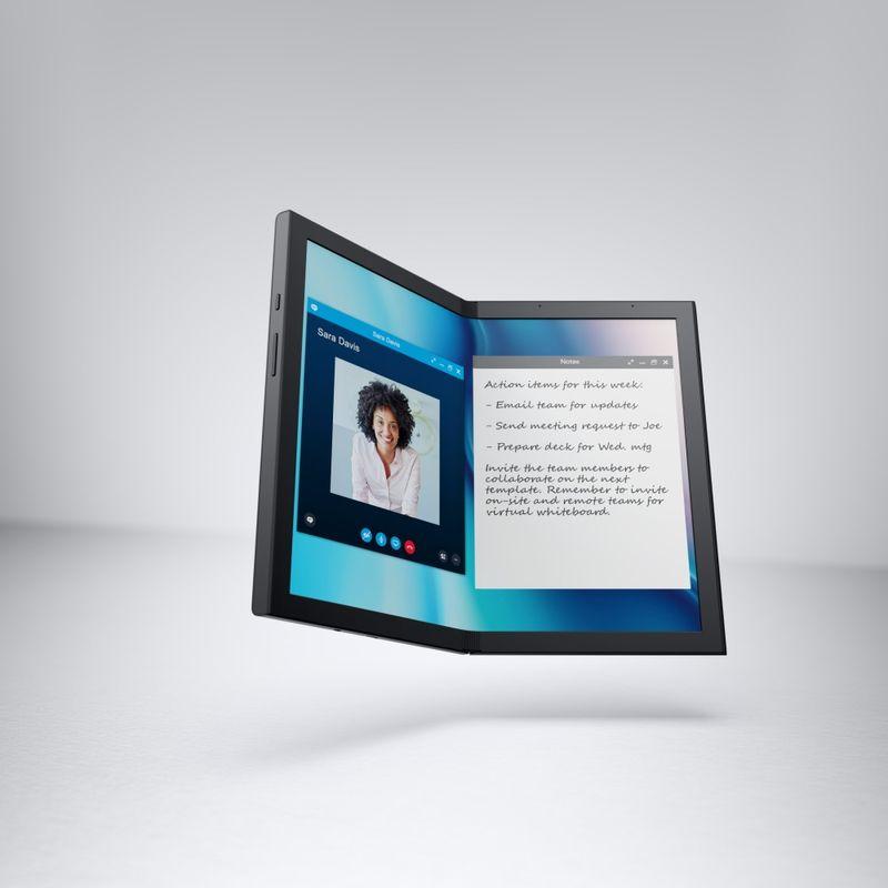 Foldable Seam-Free Tablets