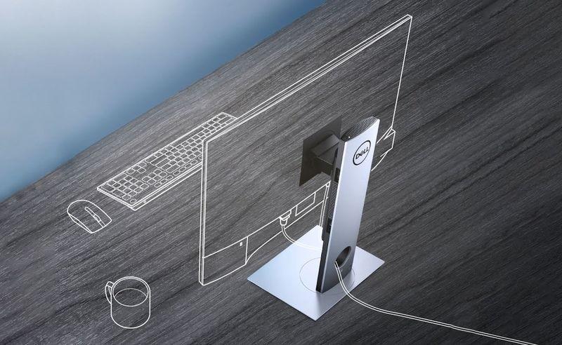 Zero-Footprint Desktop PCs