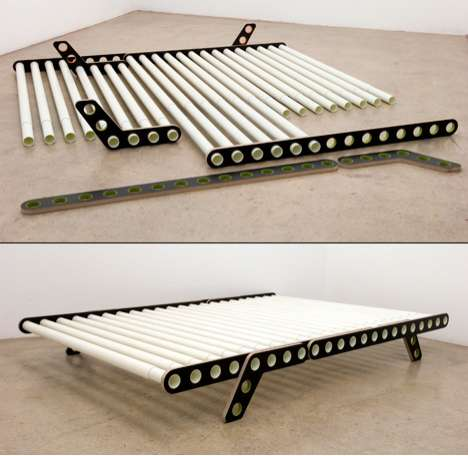 Adjustable Collapsible Bed The Delta Bed