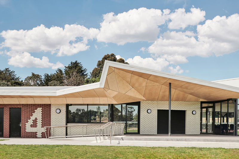 Angular Sports Pavilions