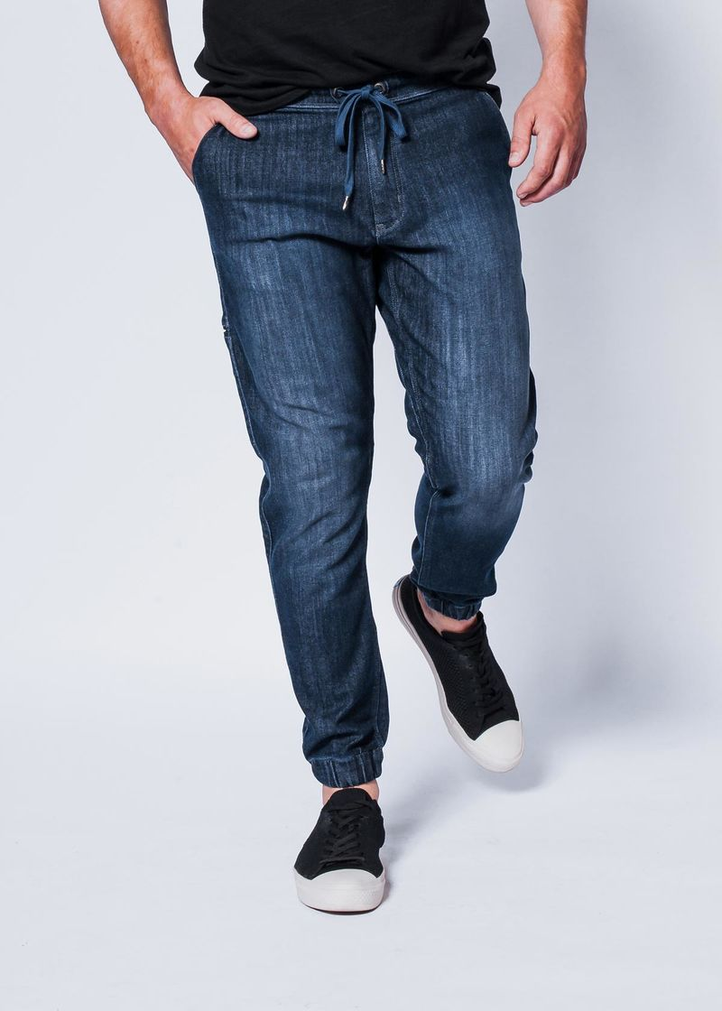 Sweatpant-Style Jeans