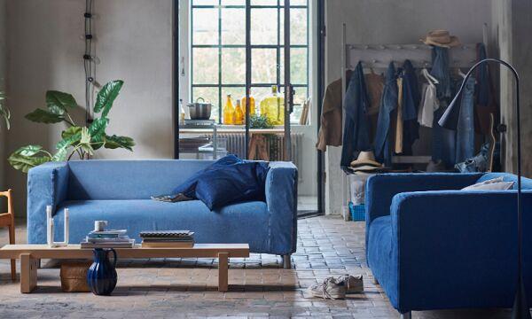 Upcycled Denim Sofas