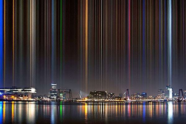 Geometric Skyline Photography