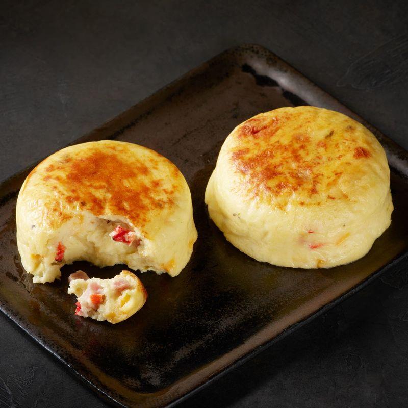 Omelet-Inspired Egg Bites