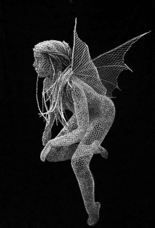 Weirdly Wired Sculptures