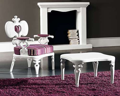 Magestic Mauve Armchairs