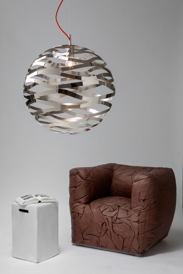 Perforated Spiral Lamps