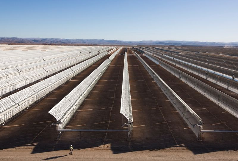 Giant Desert Solar Plants