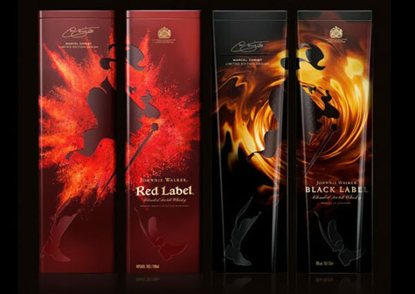 Blazing Whiskey Branding