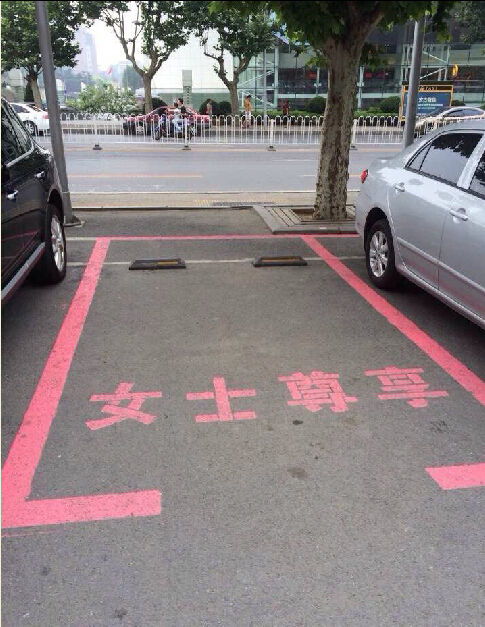 Female-Only Parking Sports