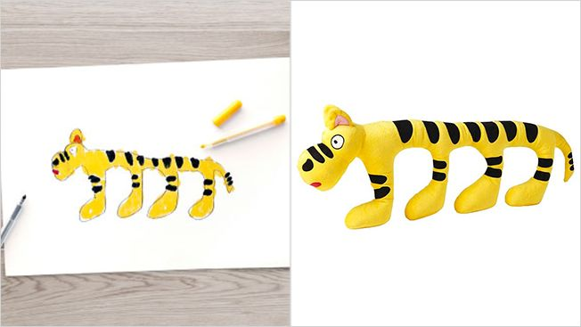 Kid-Designed Stuffed Toys