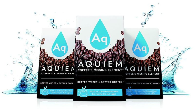Designer Coffee-Brewing Water