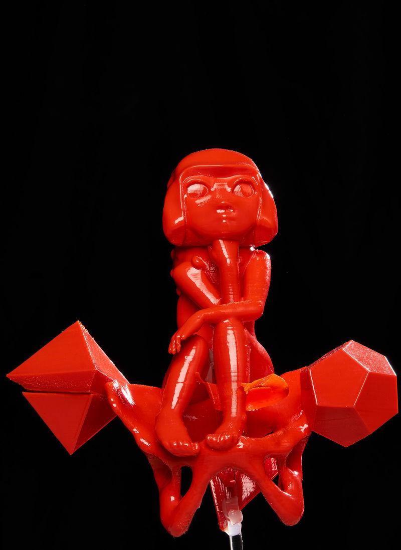 3D-Printed Designer Figurines