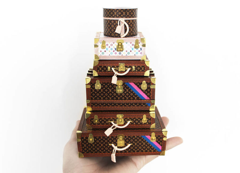 Miniature Luxury Designer Products