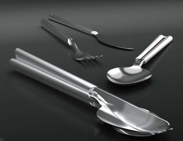 Captivating Clustered Cutlery