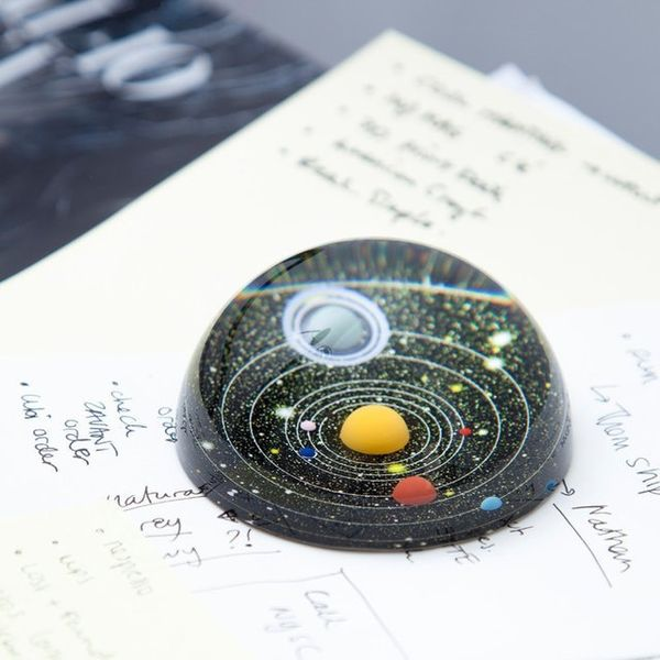 Solar System Paperweights