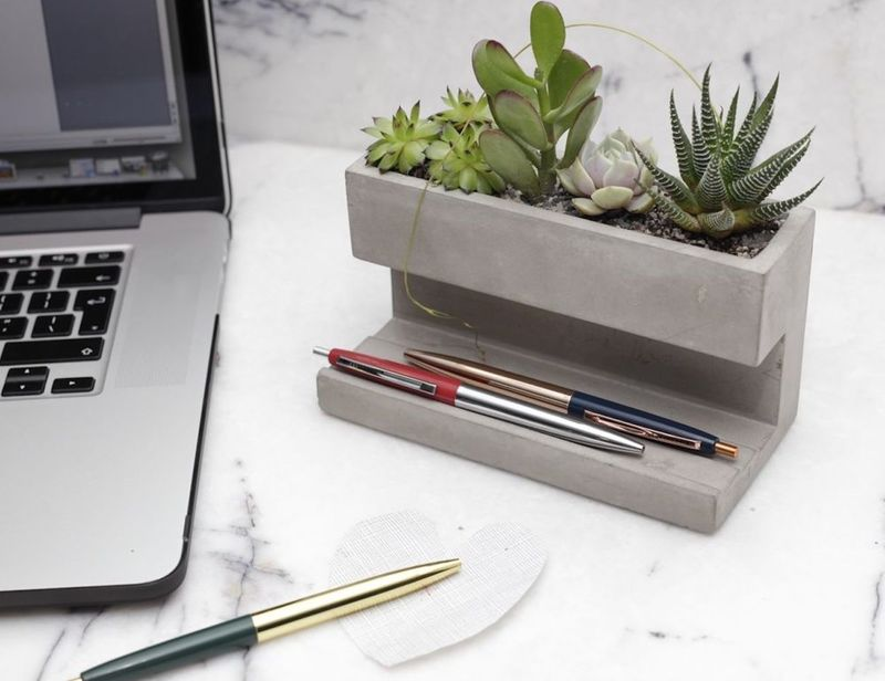Stress-Reducing Desk Gardens