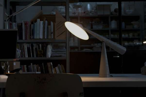 Contemporary Counterbalanced Lamps