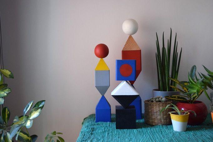Modular Desk Sculptures