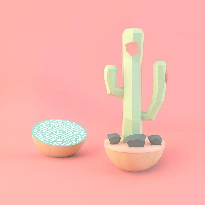 Wooden AR Desktop Toys