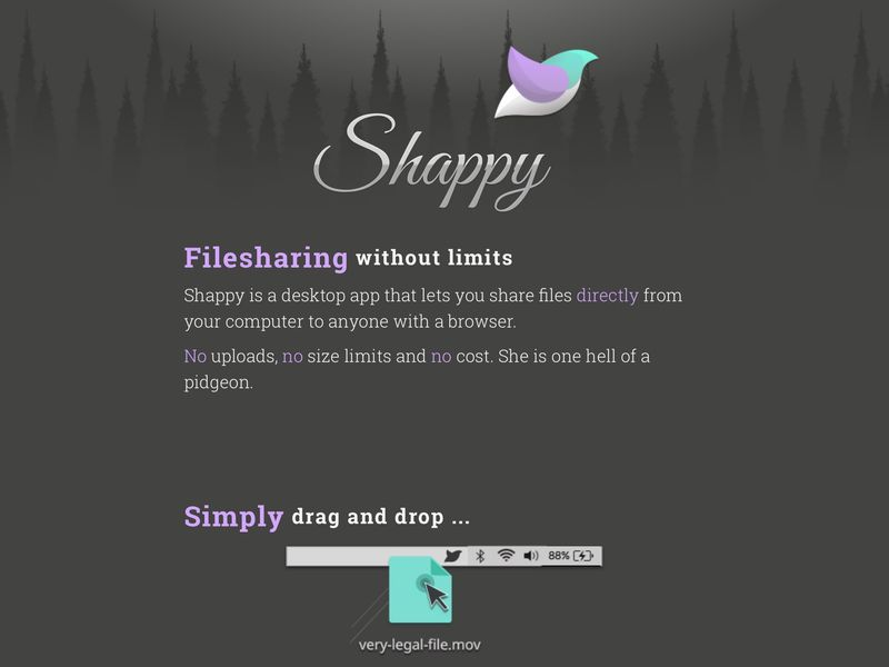 Limitless File Sharing Apps
