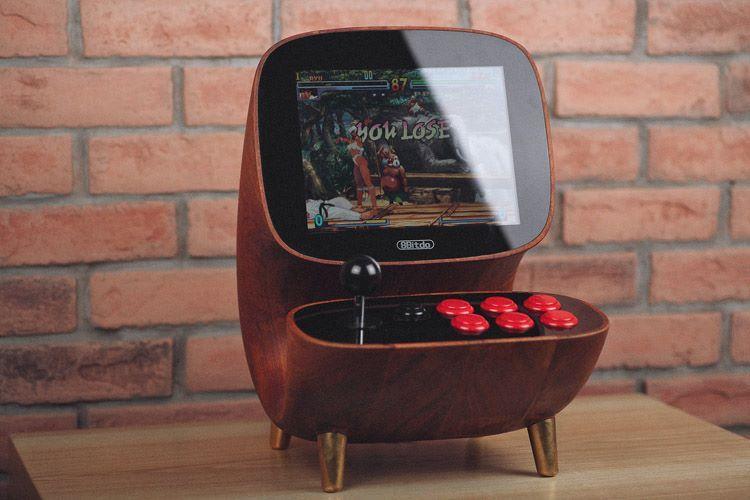 Sculptural Desktop Arcade Games