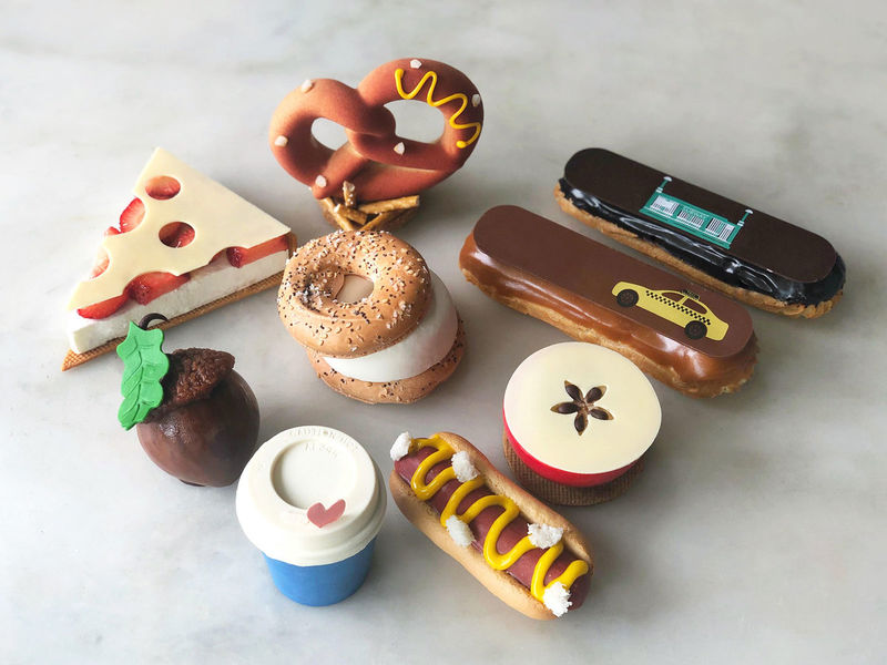 NYC-Inspired Dessert Collections