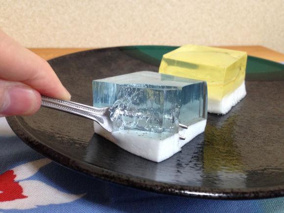 Gelatinous Dessert Cubes