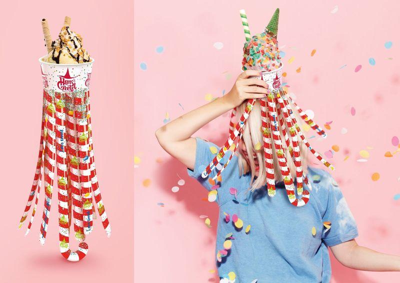Whimsical Dessert Packaging Designs