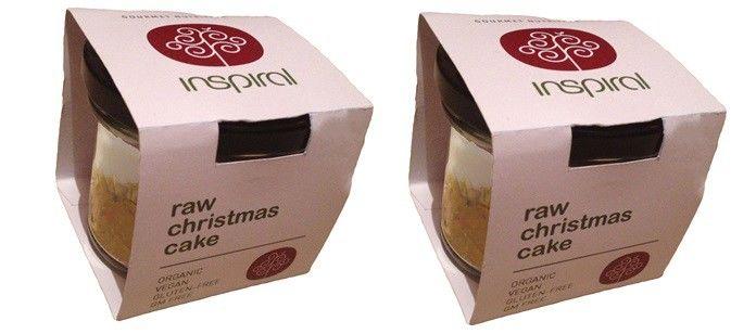 Raw Christmas Cakes