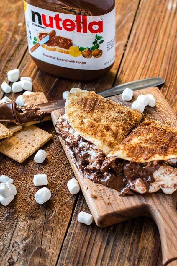 S'more Quesadilla Recipes