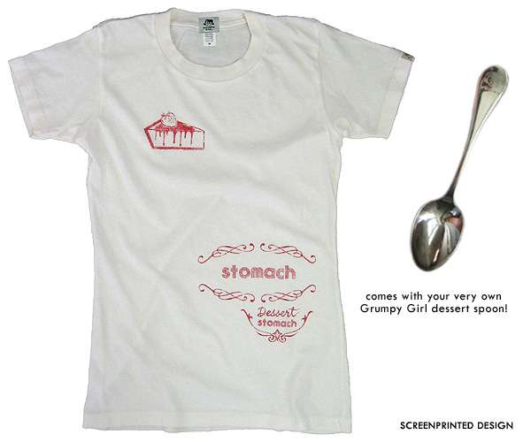 Dessert Stomach Tshirt