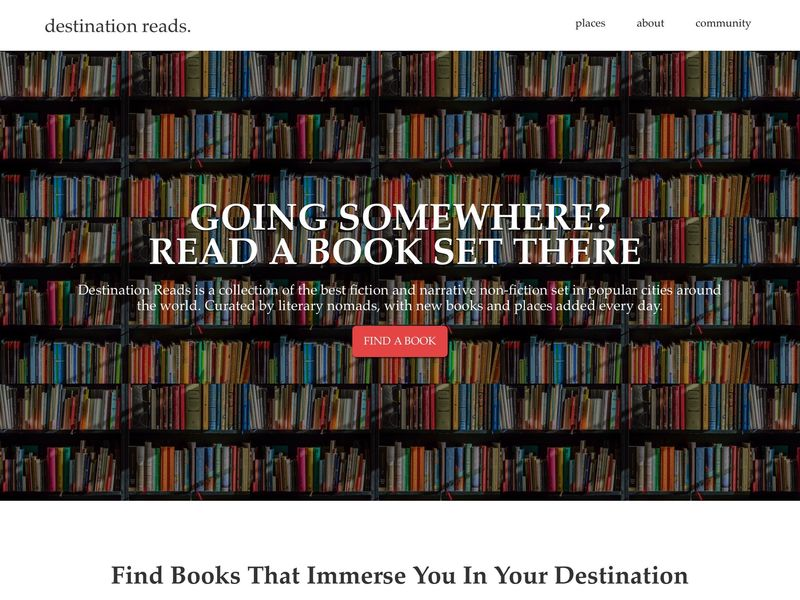 Literary Travel Inspiration Platforms