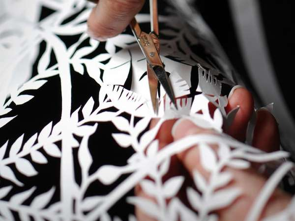 Delicately Detailed Paper Art