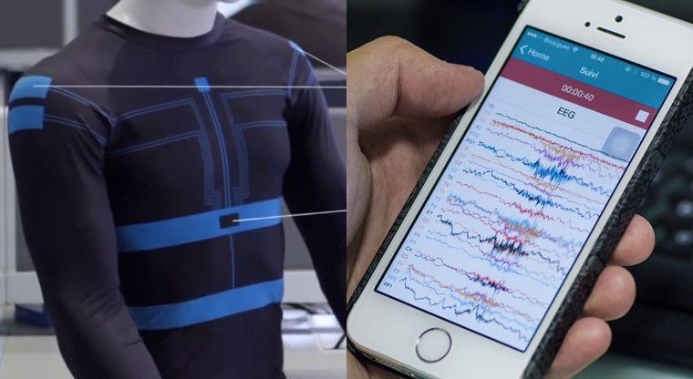 Epilepsy-Tracking Shirts