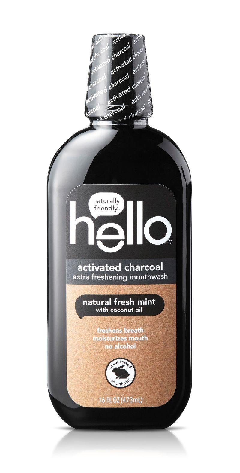 Refreshing Charcoal Mouthwashes Detoxifying Mouthwash