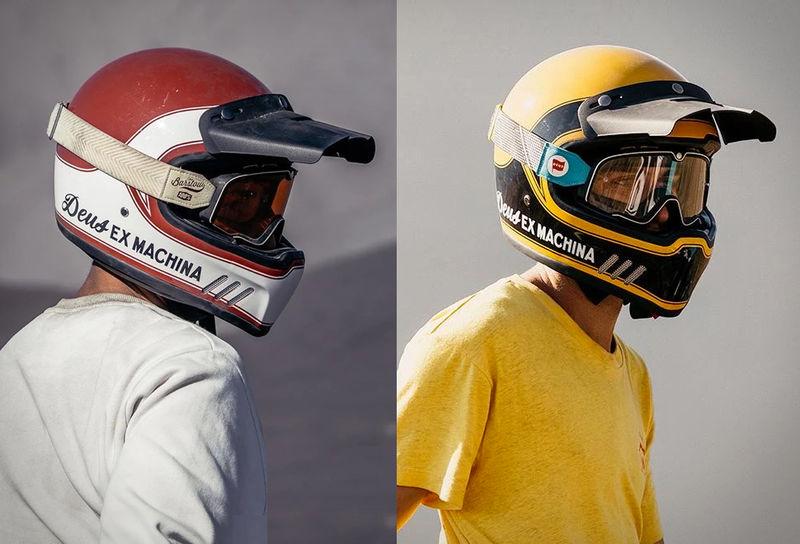 Retro-Style Motorcycle Helmets