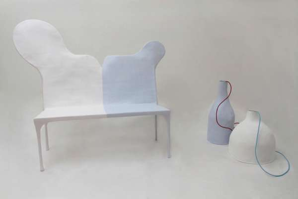 Playful Paper Perches