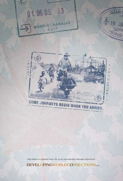 Passport Stamp Ads
