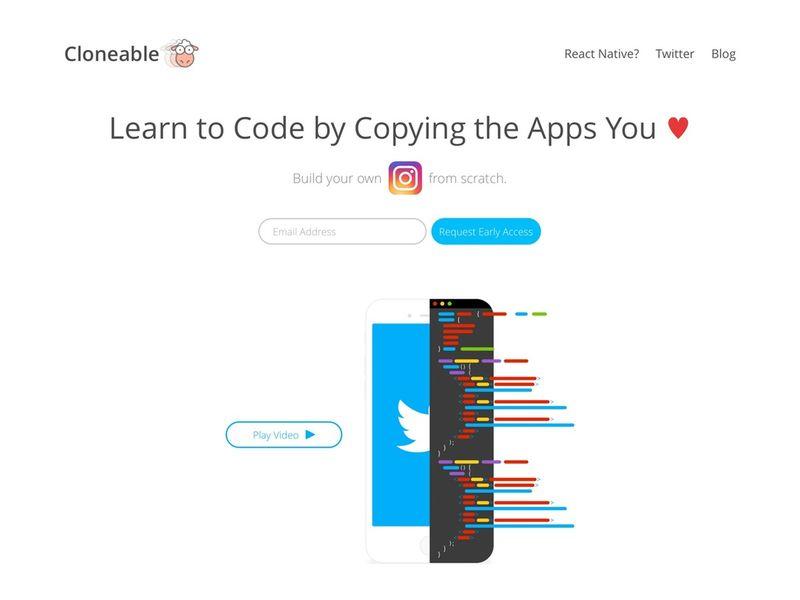 App-Copying Code Platforms